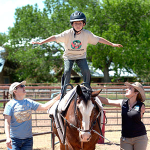 Cloud Dancers' equine therapy expands possibilities for young, old clients