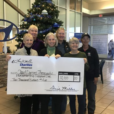 Larry H. Miller donates $10,000 to Cloud Dancers' Scholarship Fund
